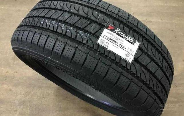 Новые шины Yokohama Geolandar G056 275/50R21. Резина на LX570 Алматы