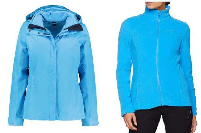 Geaca+polar dama SCHOFFEL Tignes 3in1, waterproof 10k,ski,iarna,zapada