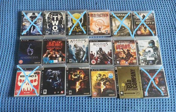 Продавам 12 игри за Playstation 3