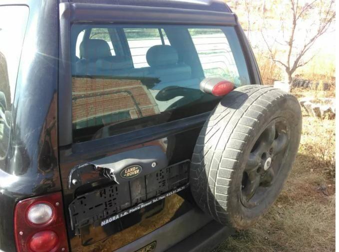 Geam haion haion luneta usa spate Land Rover Freelander 1 dezmembrez