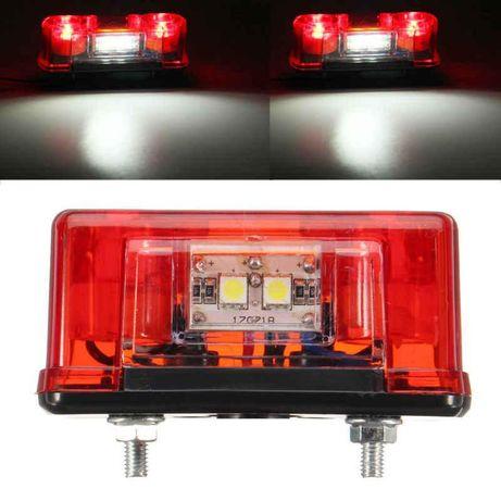 Плафон осветление номер Nokta за кола, камион, каравана и ремарке 4 ди