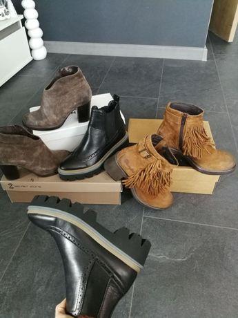 Ботуши боти обувки от естествена кожа