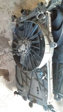 Radiator apa, radiator ac+ ventilator Opel Meriva, 1,4 1,6 benzina