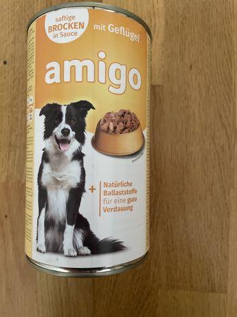 Продам корм германский для собак 1240г  Amigo