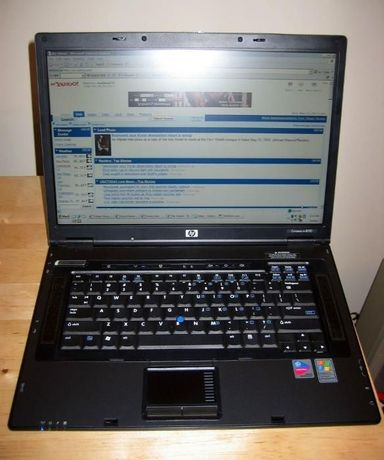 HP Compaq Notebook nc8230 на части