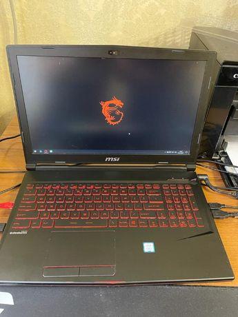 Мощный игровой ноутбук MSI GL63 8RE
