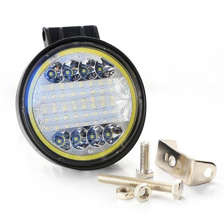 Мощна офроуд LED светлина,прожектор, работна лампа с 38 диода 42W