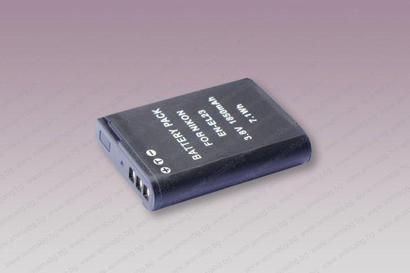 ANIMABG Батерия модел EN-EL23 за фотоапарати на Nikon
