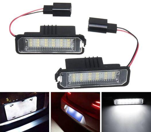 Lampi Numar LED VW Golf 4/5/6/7 Passat B6 CC Polo EOS Seat Ibiza Leon