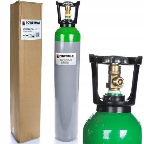 Butelie argon si amestec CO2,capacitate 8L,