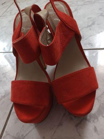 Sandale ATMOSPHERE , Mărimea 39, portocalii