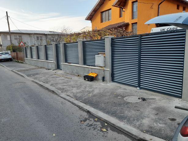Porți metal decupate