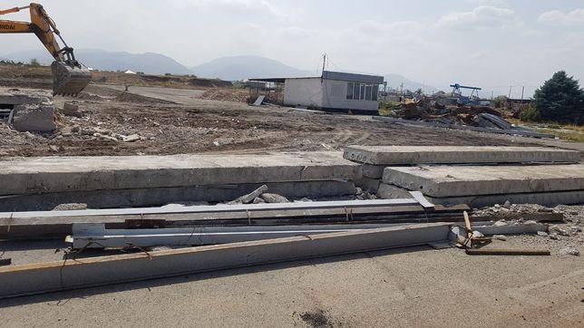 Продам плиты бетонные перекрытия пкж