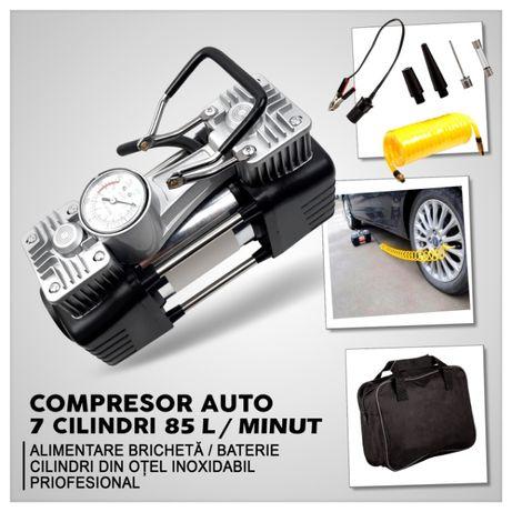 Compresor auto 2 cilindri 628-4x4 max.200 PSI, 85 l/min