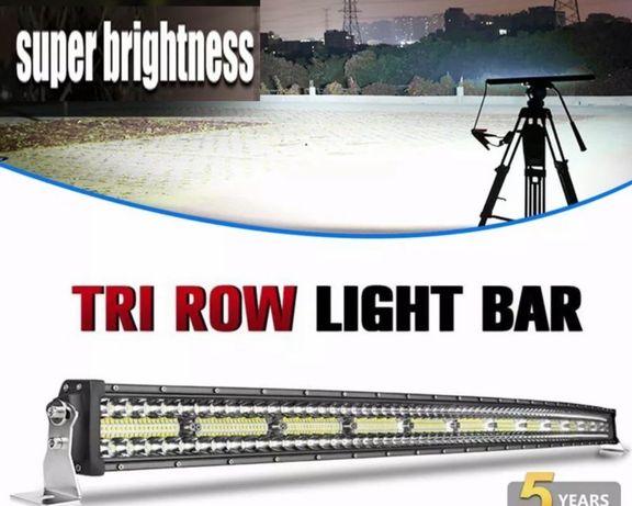 ‼️Cel mai tare led-bar 10D de 107 cm 2000w tir, off-road