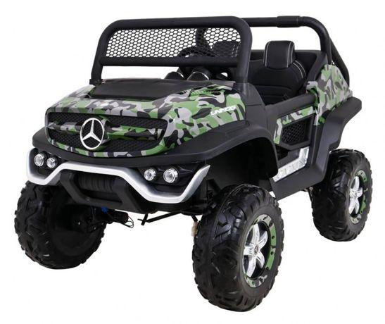 Masinuta electrica pentru copii Mercedes Benz UNIMOG 4x4 Military