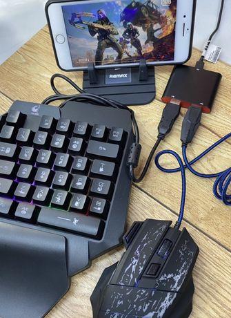 Комплект для PUBG,клавиатура для телефона,мышка для телефона,триггеры
