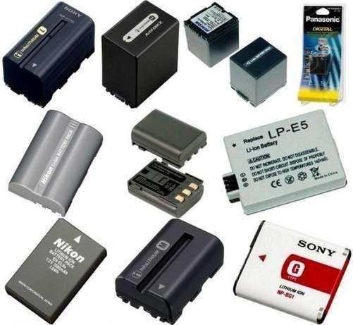 Аккумуляторы на фотоаппараты и видеокамеры