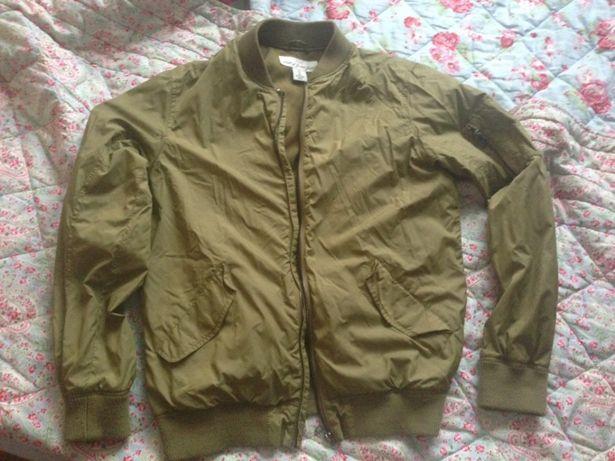 Bomber jacket geaca khaki H&M m S