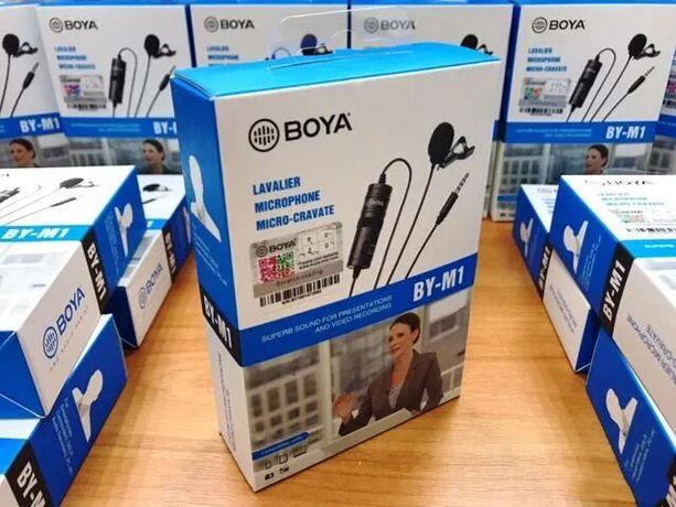 Петличный микрофон Boya BY-M1 оргиналный микрофон бред фирм