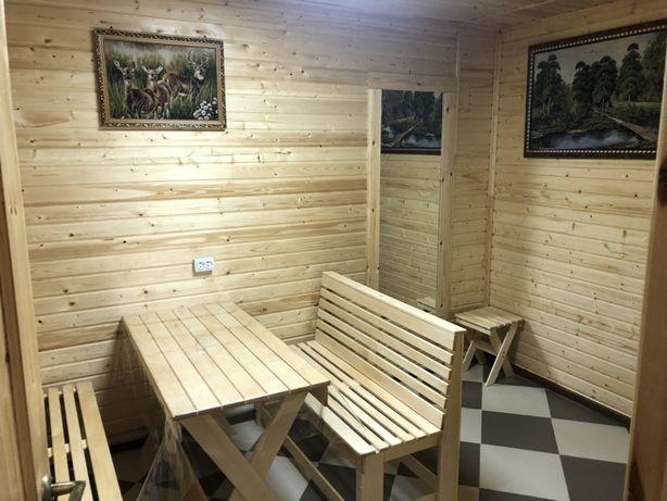 Семейная баня сауна на дровах 3000 тенге!