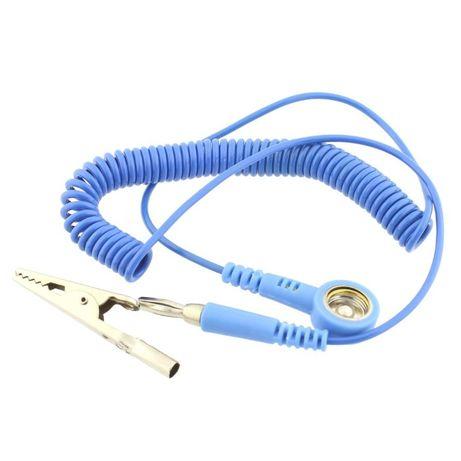 Cablu bratara antistatica, capsa 10mm