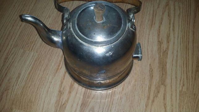 Ceainic vechi electric 500w din inox pentru decor 50lei fix.