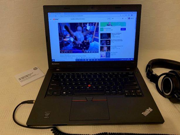 Lenovo ThinkPad L450 8GB RAM i3 250GB SSD Windows10 Pro Wi-Fi+Cellular