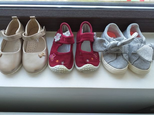 Lot 3 perechi pantofi fetite, mar. 20