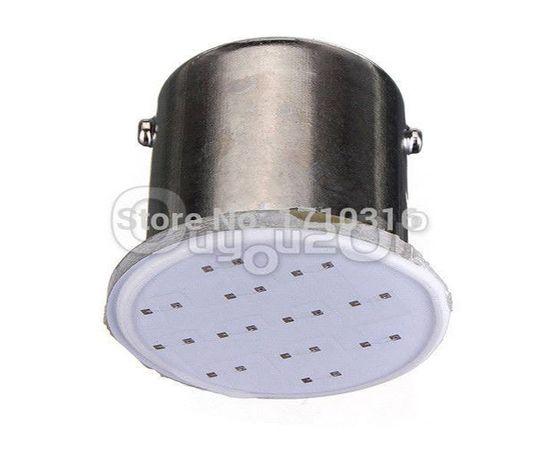 COB LED Автокрушка 1156 / BA15S / P21W жълта светлина