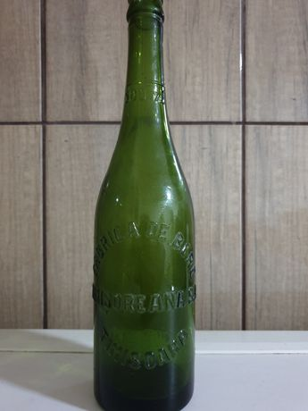 Sticla de bere timișoreană din anul 1945