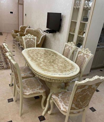 Продам стол стульями хорошем