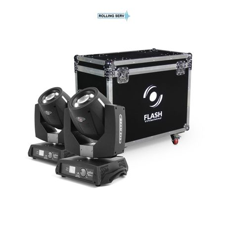 Set Moving Head Beam Flash 7R 230W