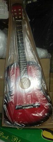 Chitara clasica model 3/4 pentru incepatori culoare rosu