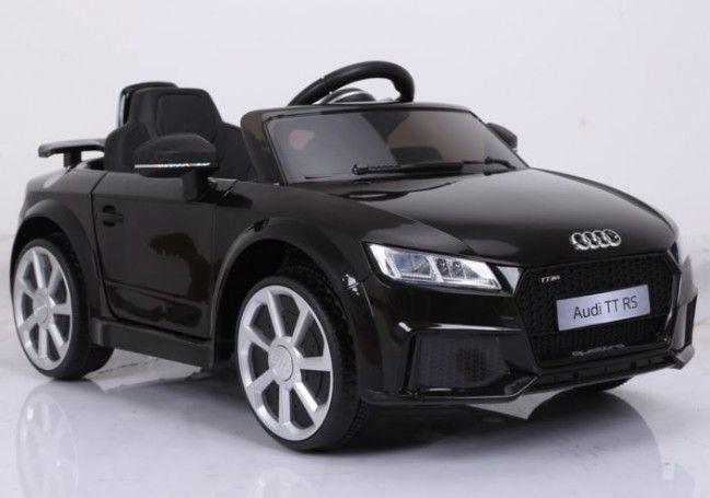 Masinuta electrica Kinderauto Audi TT RS 2x 30W STANDARD 12V #Negru