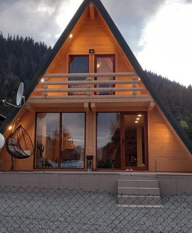 Vând casă din lemn masiv orice model ne deplasăm în toată țara