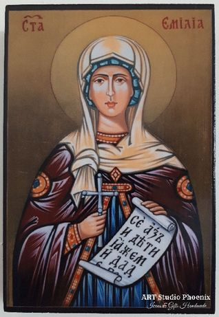 Икона на Света Емилия icona sveta emilia