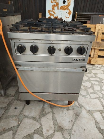 Професионална газова печка FOEM