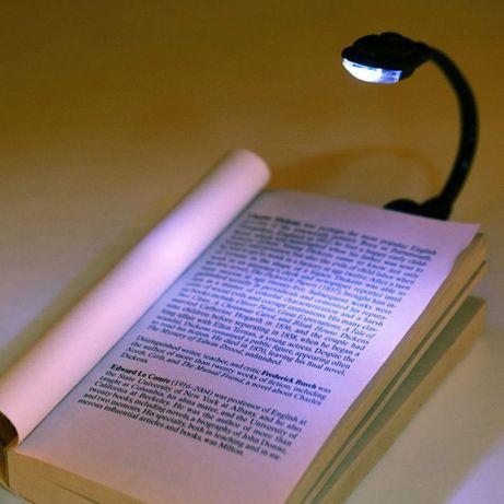 Безжична LED лампа за четене на книга или електронно устройство