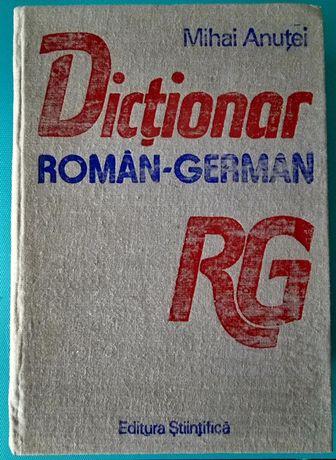 DICȚIONAR Român - German, 1620 pagini, Editura Stiintifica