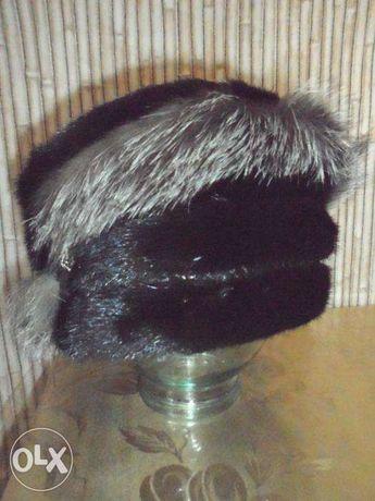 Продам шапку жен.норковую б/у