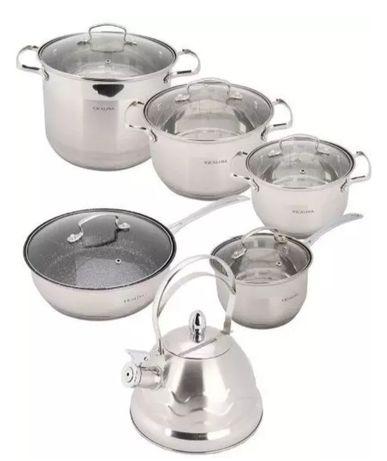 Набор посуды Vicalina 11 предметов, Набор кастрюль