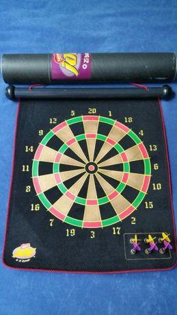 Vand Darts magnetic cu 2 fete si 6 sageti cu magnet, cu emblema JOE, n
