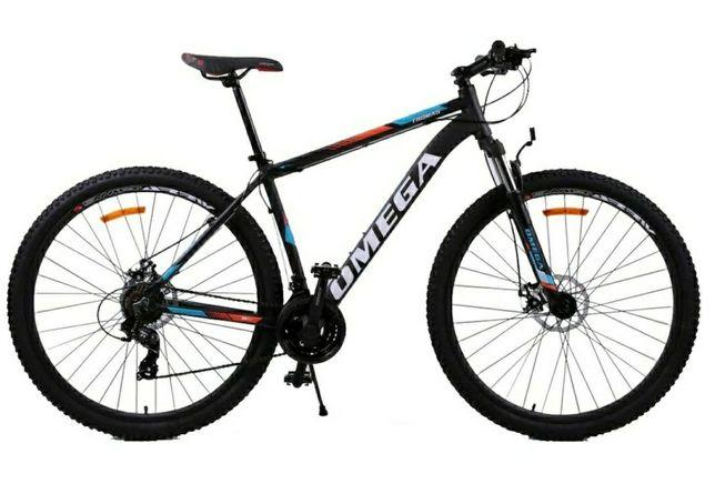 """Bicicleta mountainbike Omega Thomas 29"""" 2021, multicolor, 46cm"""