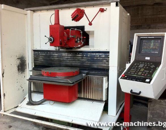 4 осна инструментална CNC Фреза с ЦПУ - MAHO 700C
