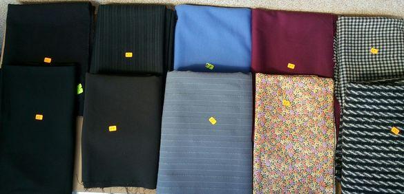 Черен плат за предпазни маски,платове и носни кърпи