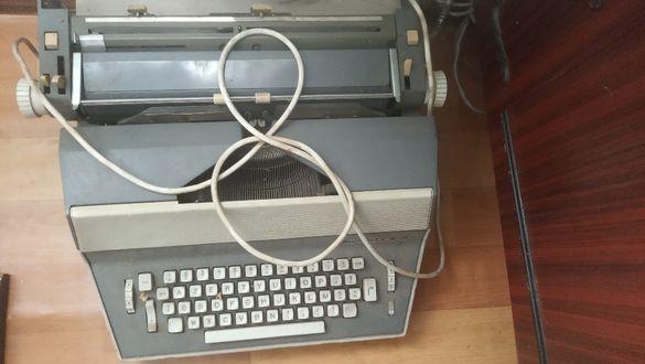 Електрическа пишеща машина, латиница