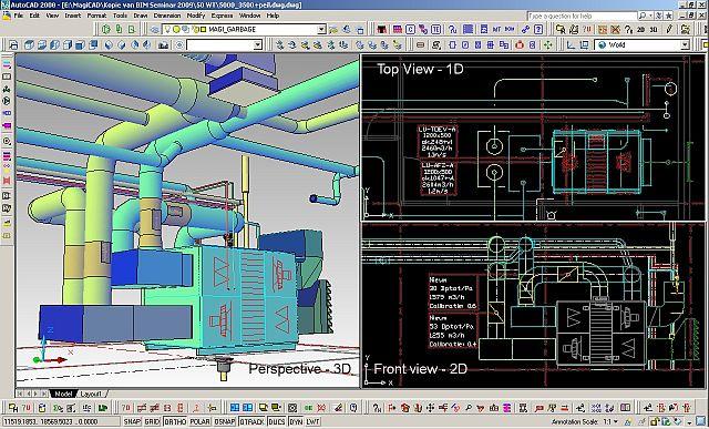 3D-моделирование систем отопления, вентиляции и кондиционирования