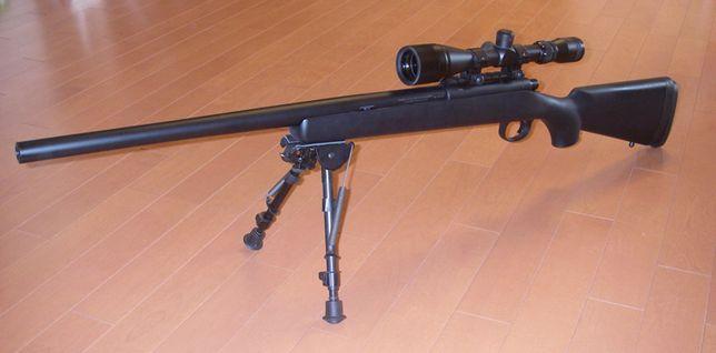 ARMA-PUTERNICA Airsoft Pusca SNIPER LUNETA Full Metal 4.3Jouli arc 6mm