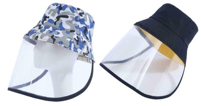 Palarie protectie. Culoare camuflaj, albastru inchis Nou ambalata!